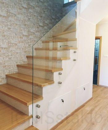 Staklena ograda stepenište